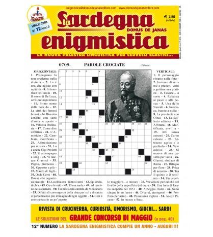 Sardegna Enigmistica 12 (2008)
