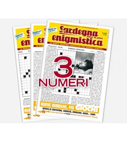 Pacchetto Sardegna Enigmistica (1,2,3)