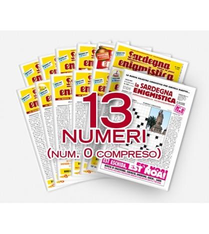 Pacchetto Sardegna Enigmistica (13 numeri)
