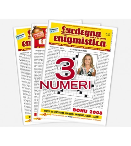 Pacchetto Sardegna Enigmistica (4,5,6)