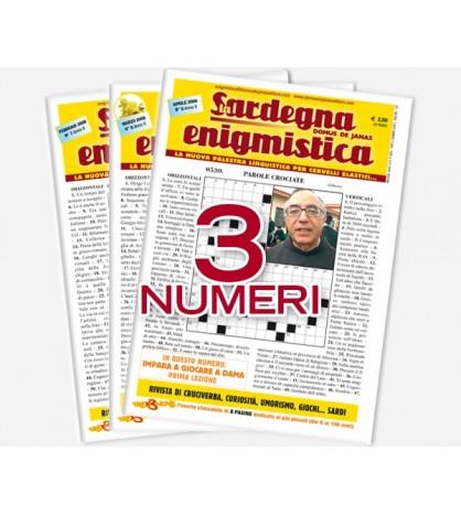 Pacchetto Sardegna Enigmistica (7,8,9)