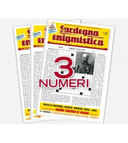 Pacchetto Sardegna Enigmistica (10,11,12)